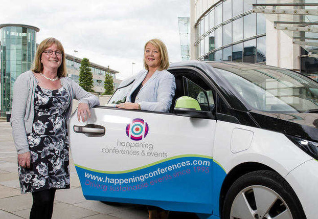 Celia Lloyd, and Anne Doherty celebrate Happening merger with Intelligent Events